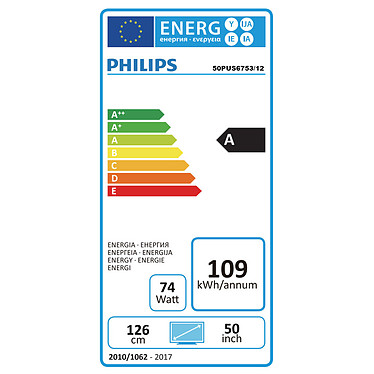 Acheter Philips 50PUS6753