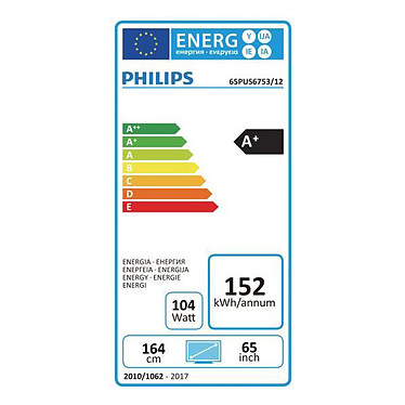 Acheter Philips 65PUS6753