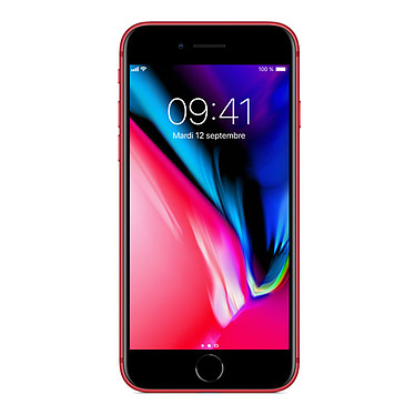 "Apple iPhone 8 256 Go (PRODUCT)RED Smartphone 4G-LTE Advanced IP67 - Apple A11 Bionic Hexa-Core - RAM 2 Go - Ecran Retina 4.7"" 750 x 1334 - 256 Go - NFC/Bluetooth 5.0 - iOS 11"