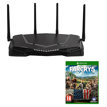 Netgear Nighthawk Pro Gaming XR500 + Far Cry 5 (Xbox One) Routeur sans fil Dual Band Wi-Fi AC2600 (N800 + AC1733) MU-MIMO + 4 ports Gigabit Ethernet + Far Cry 5 (Xbox One)