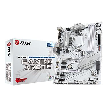 MSI B360 GAMING ARCTIC Carte mère ATX Socket 1151 Intel B360 Express - 4x DDR4 - SATA 6Gb/s + M.2 - USB 3.1 - 2x PCI-Express 3.0 16x