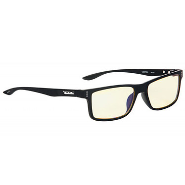 GUNNAR Vertex Loupe +1 (Onyx) Lunettes de confort oculaire pour la bureautique et le jeu avec correction pour lecture/presbytie