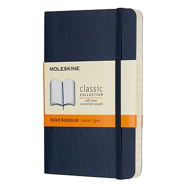 Moleskine Classic Soft Pocket Ruled Bleu