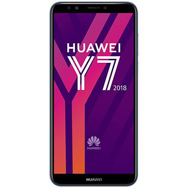 "Huawei Y7 2018 Azul Smartphone 4G-LTE Advanced Dual SIM - Snapdragon 430 8-Core 1.4 GHz - RAM 2 Go - Pantalla táctil 5.99"" 720 x 1440 - 16 Go - Bluetooth 4.2 - 3000 mAh - Android 8.0"