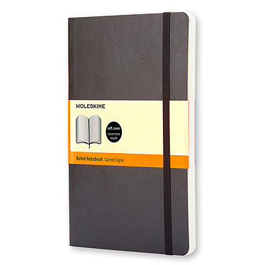 Moleskine Classic Soft Pocket Ruled Noir