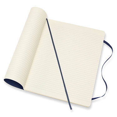 Avis Moleskine Classic Hardcover XL Ruled Bleu
