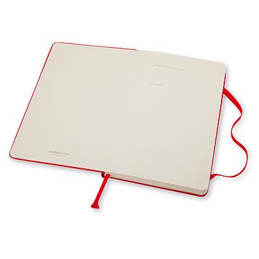 Acheter Moleskine Classic Hardcover XL Ruled Rouge