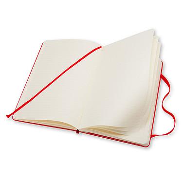 Avis Moleskine Classic Hardcover Large Ruled Rouge