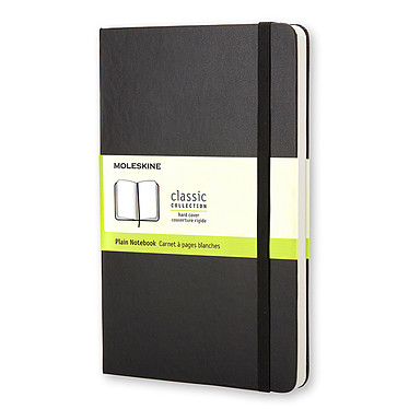 Moleskine Classic Hardcover Large Plain Noir