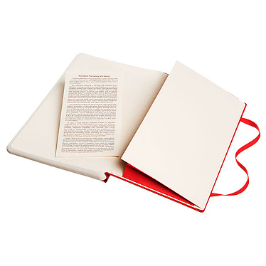 Moleskine Paper Tablet Hardcover Large Dotted Rouge pas cher