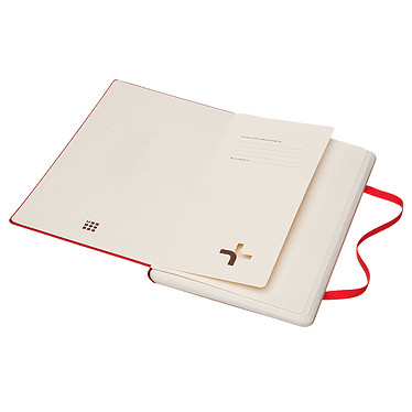 Acheter Moleskine Paper Tablet Hardcover Large Dotted Rouge