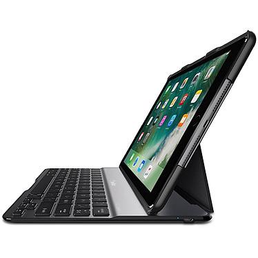 Belkin QODE Ultimate Lite iPad (2017) Funda/teclado para iPad 5ª generación (2017/2018) y iPad Air (1ª generación) - Negro