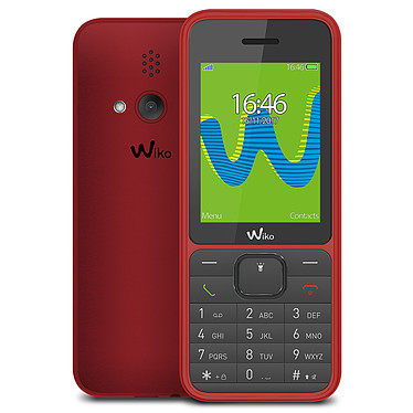 "Wiko Riff 3 LS Cherry 2G Dual SIM Smartphone 2G - Pantalla 2.4"" 320 x 240 - Bluetooth 2.1 - 800 mAh"