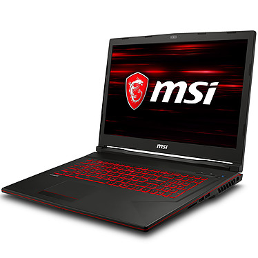 "MSI GL73 8RE-662FR Intel Core i7-8750H 16 Go SSD 256 Go + HDD 1 To 17.3"" LED Full HD 120 Hz NVIDIA GeForce GTX 1060 6 Go Wi-Fi AC/Bluetooth Webcam Windows 10 Famille 64 bits (garantie constructeur 2 ans)"