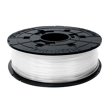 XYZprinting Junior Filament PLA (600 g) - Blanc Bobine de filament 1.75mm pour imprimante 3D Da Vinci JUNIOR - Mini - Nano