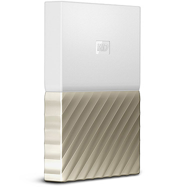 "WD My Passport Ultra 2 To Blanc-Doré (USB 3.0) Disque dur externe 2.5"" 2 To sur port USB 3.0 / USB 2.0"