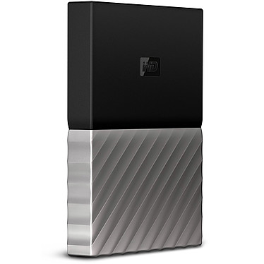 WD My Passport Ultra 1 To Gris-Noir (USB 3.0)