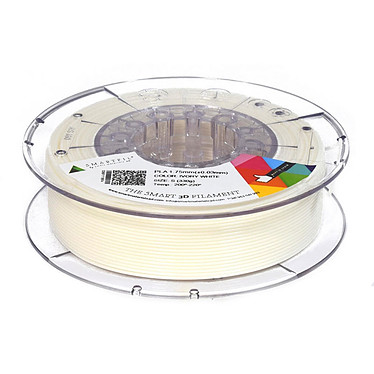 Smartfil Bobine PLA 1.75mm 750g - Blanc Bobine 1.75mm pour imprimante 3D