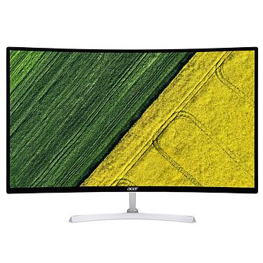 "Acer 31.5"" LED - EB321QURwidp 2560 x 1440 pixels - 1 ms - Format 16/9 - Dalle TN incurvée - DisplayPort - HDMI - Blanc"
