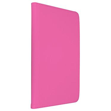"""Akashi Etui Folio Galaxy Tab A6 10.1"""" Rose Étui / support 360° pour tablette Samsung Galaxy Tab A 10.1"""""""