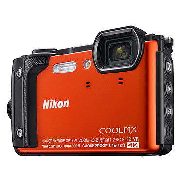 Avis Nikon Coolpix W300 Orange + Kingston Canvas Select SDCS/16GB