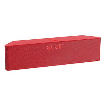 ClipSonic TES157 Rouge Enceinte Bluetooth 6W avec radio FM et microphone intégré