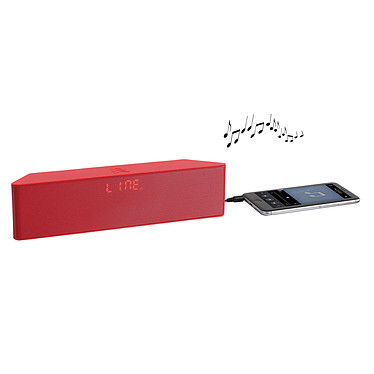 ClipSonic TES157 Rouge pas cher