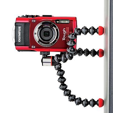 Olympus TG-5 Rouge + Joby GorillaPod Magnetic 325 pas cher