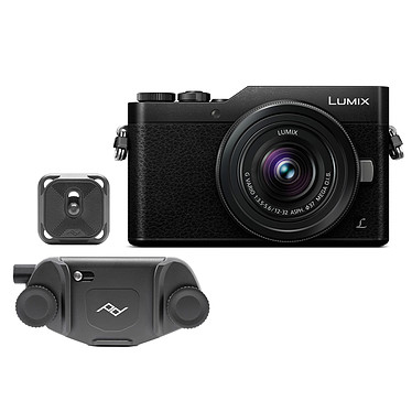 Panasonic Lumix DC-GX800 Noir + 12-32 mm + Peak Design Capture v3 Noir