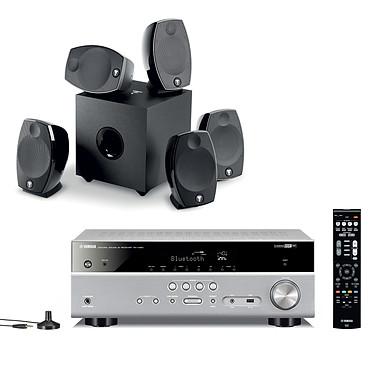 Yamaha MusicCast RX-V483 Titane + Focal Sib Evo 5.1