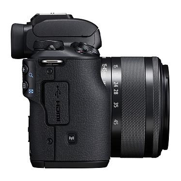Avis Canon EOS M50 Noir + EF-M 15-45 mm IS STM Noir + Kingston Canvas Select SDCS/16GB