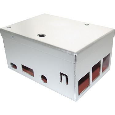 Carberry 3 Box - Metal Boîtier en métal pour système Raspberry Pi 2 / 3 et carte d'extension Carberry Card