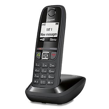 Gigaset AS470 Noir  Téléphone sans fil mains-libres