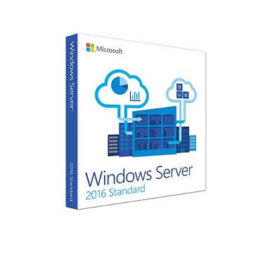 Microsoft Windows Server Standard 2016 (16 coeurs) - English