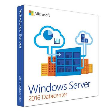 Microsoft Windows Server Datacenter 2016 (24 coeurs)