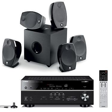 Yamaha MusicCast RX-V683 Noir + Focal Sib Evo 5.1
