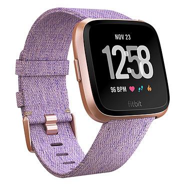 Fitbit Versa Special Edition Lavande Montre connectée GPS avec paiement sans contact, capteur cardiaque, écran couleur tactile, Bluetooth NFC compatible iOS, Android et Windows Phone