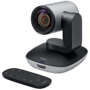 Logitech PTZ Pro 2 Webcam Full HD 1080p avec vue panoramique à 260° et télécommande pour conférence
