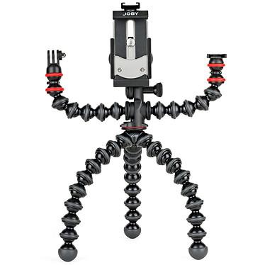 Joby GorillaPod Mobile Rig Trépied flexible pour smartphone avec 2 bras supplémentaires pour accessoires