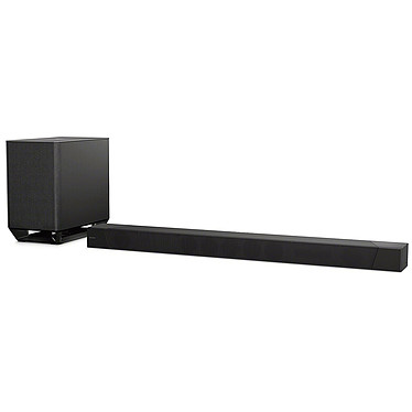 Sony HT-ST5000 Barre de son 7.1.2 Dolby Atmos Hi-Res Audio avec 3 entrées HDMI, caisson de basses sans fil, fonction multiroom, Wi-Fi, Bluetooth, NFC, Chromecast et Spotify Connect