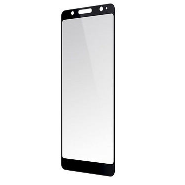 Wiko vidriotemplado negro View Lite Lámina protectora curvada de vidrio templado Negro para Wiko View Lite
