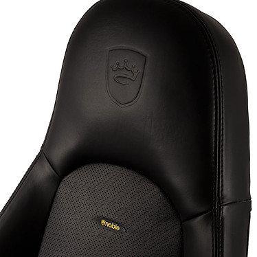 Noblechairs Icon Cuir Nappa (noir) pas cher