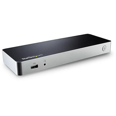 StarTech.com MST30C2HHPDU Station d'accueil USB-C double affichage HDMI - 5 ports USB 3.0 - Port Ethernet Gigabit - Power Delivery 60W