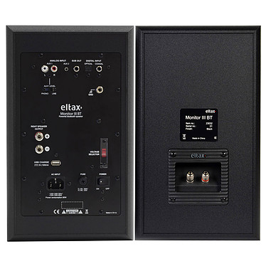 Audio-Technica AT-LP120USBHC + Eltax Monitor III BT Phono Noir pas cher