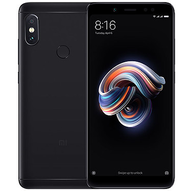 "Xiaomi Redmi Note 5 Negro (4 GB / 64 GB) Smartphone 4G-LTE Dual SIM - Snapdragon 636 Octo-Core 1,8 GHz - RAM 4 GB - Pantalla táctil 5,99"" 1080 x 2160 - 64 GB - NFC/Bluetooth 5.0 - 4000 mAh - Android 8.1"
