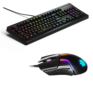 SteelSeries Apex 150 + Rival 600