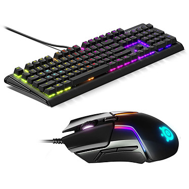 SteelSeries Apex M750 + Rival 600