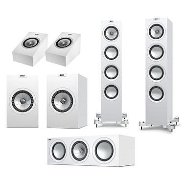 KEF Q550 System Atmos Blanc Pack d'enceintes 5.0.2 Dolby Atmos