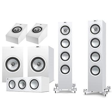 KEF Q550 System Plus Atmos Blanc