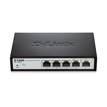 D-Link DGS-1100-05 Switch administrable Gigabit 5 ports 10/100/1000 Mbps